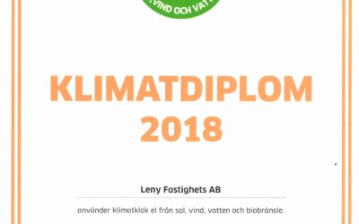Klimatdiplom 2018