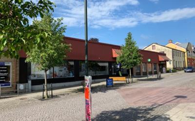 Ny fastighet på Västergatan, Sjöbo